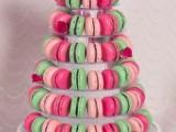 25-trendy-and-unique-macaron-tower-wedding-cakes-23