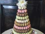 25-trendy-and-unique-macaron-tower-wedding-cakes-24