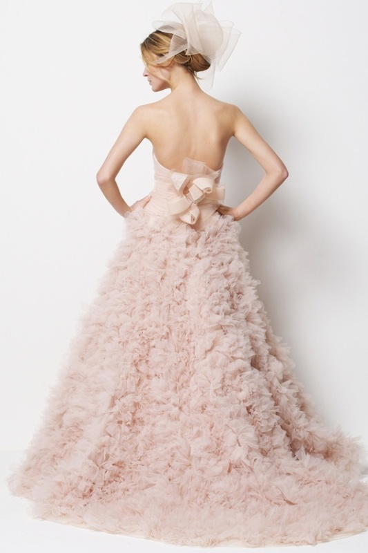 25 Trendy Pastel Wedding Gowns Ideas - Weddingomania