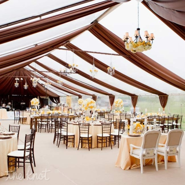 picture of unique and special wedding tents ideas. Black Bedroom Furniture Sets. Home Design Ideas