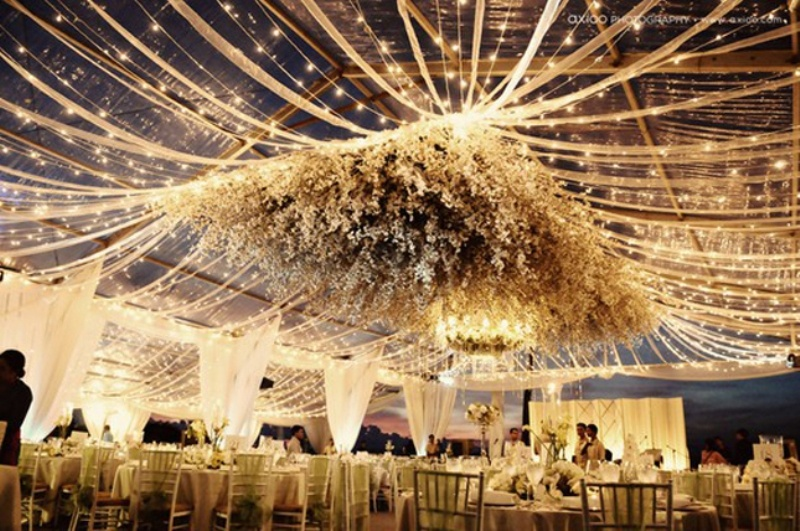 Picture Of Unique And Special Wedding Tents Ideas