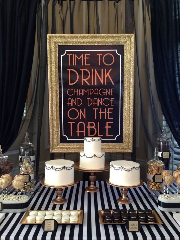 25 Vintage Inspired Great Gatsby Themed Rehearsal Dinner Ideas
