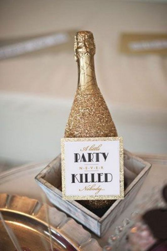 Picture Of vintage inspired great gatsby themed rehearsal dinner ideas  7