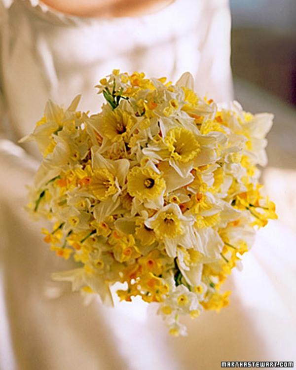25 Sunny Yellow Wedding Bouquets Weddingomania
