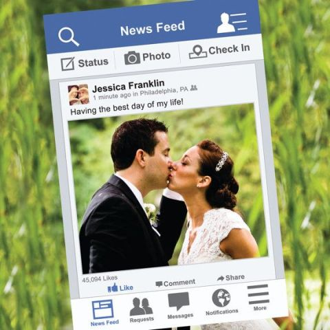 picture of funny photo booth props ideas for your wedding 6