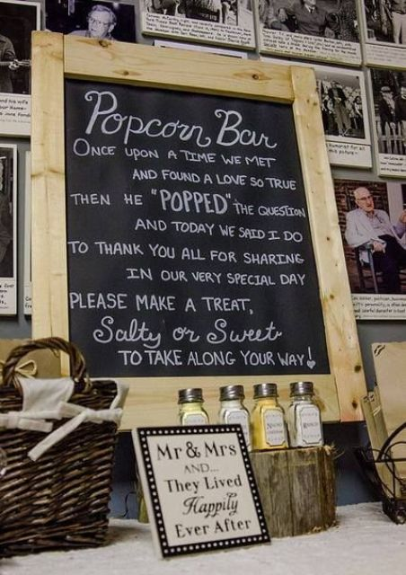 Popcorn Bar Ideas For Your Wedding9 (2)