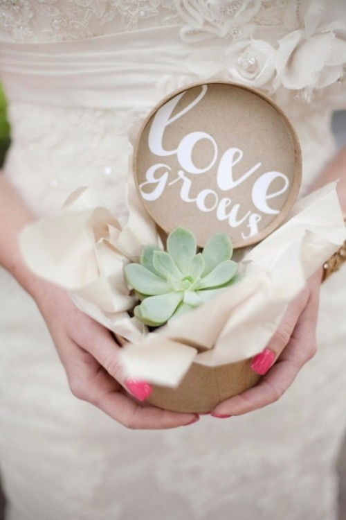26 Awesome Ways To Use Succulents In Your Wedding