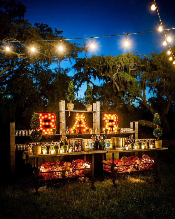 Picture Of Creative Wedding Drinks Bar Design Ideas 12
