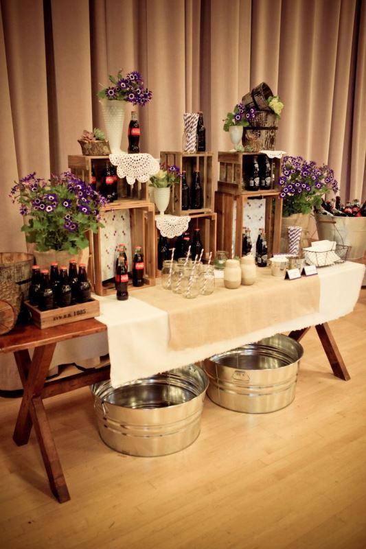 Picture of creative wedding drinks bar design ideas 17 for Wedding bar ideas
