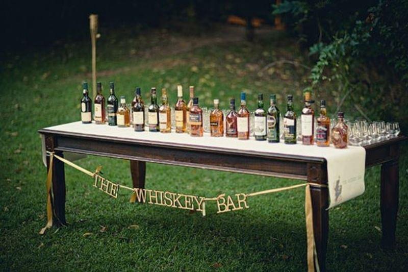 Liquor king wedding