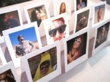 Polaroids used to make a seathing chart is a very cool and very creative idea that can be DIYed
