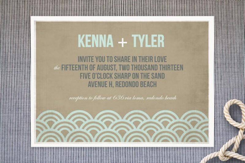 26 Cool Beach Wedding Invitations Weddingomania – Wedding Invitations Beach