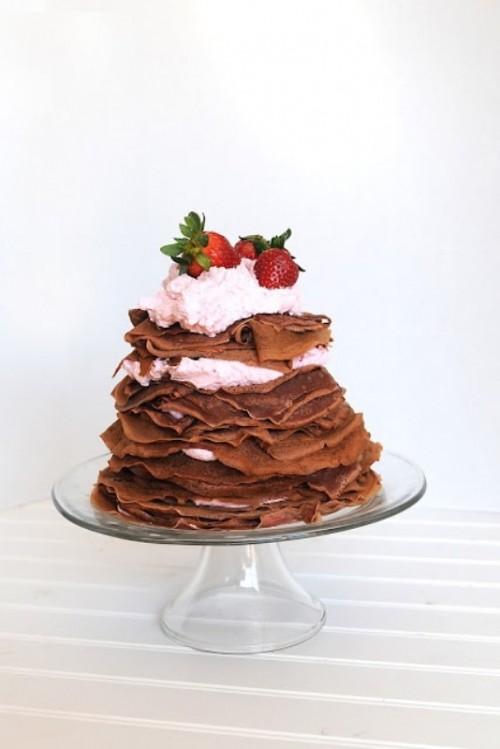 26 Sweet And Yummy Pancake Wedding Cakes Weddingomania
