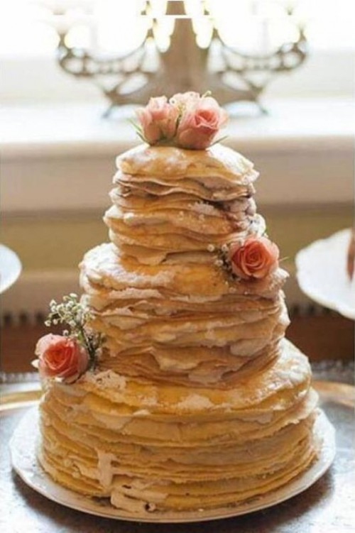 Pancake Tower Cakes