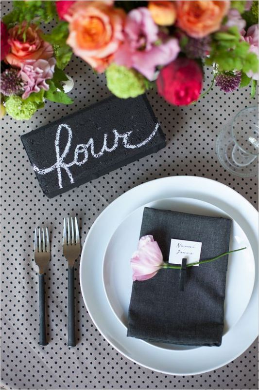 Picture Of trendy printed tablecloth wedding inspirational ideas  13