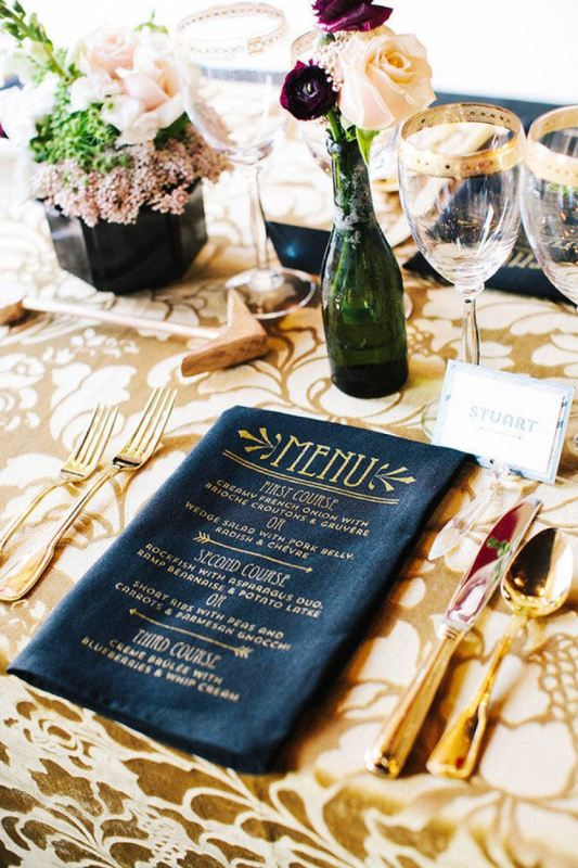 Picture Of trendy printed tablecloth wedding inspirational ideas  22