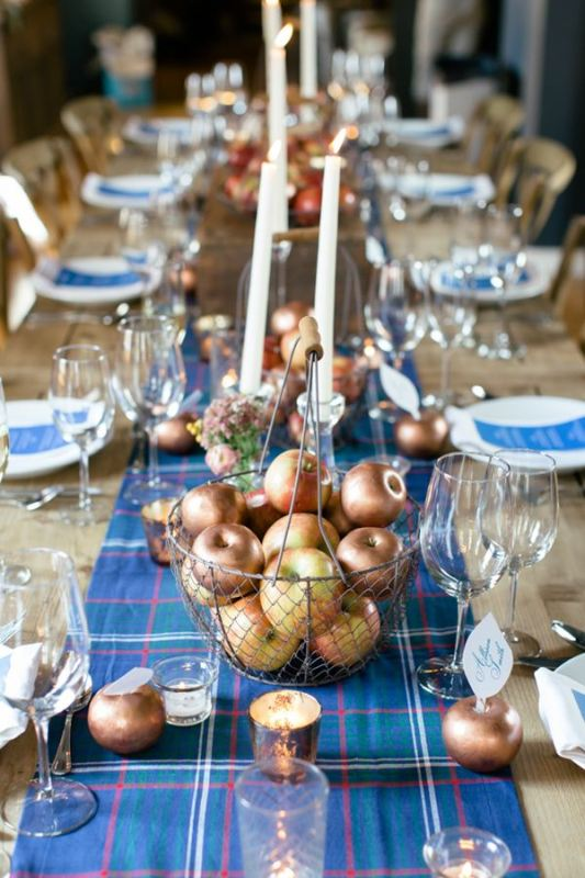 Picture Of trendy printed tablecloth wedding inspirational ideas  23