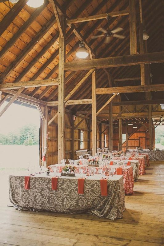 Picture Of trendy printed tablecloth wedding inspirational ideas  24