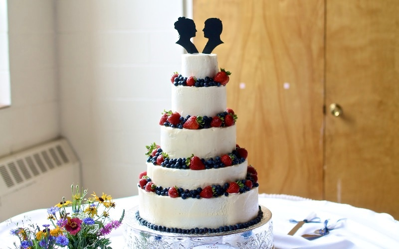 Picture Of Adorable Silhouette Wedding Cake Toppers Ideas