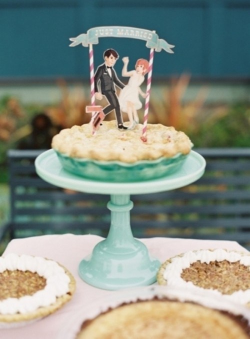 Adorable Silhouette Wedding Cake Toppers Ideas