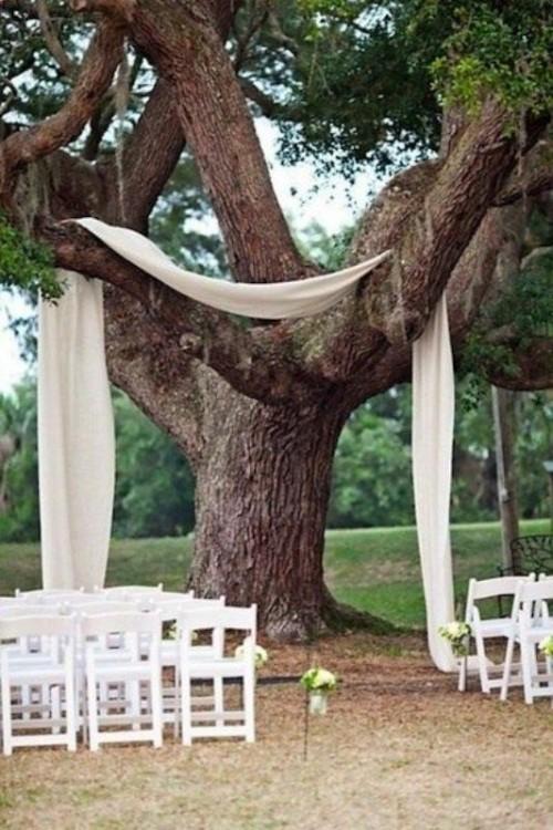 Backyard Wedding Decorations 27 amazing backyard wedding ceremony decor ideas - weddingomania