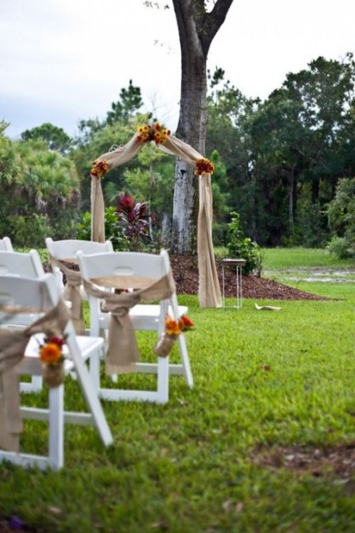 Amazing Backyard Wedding Ceremony Decor Ideas