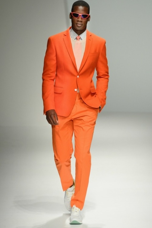 27 bright and colorful groom s suits ideas weddingomania