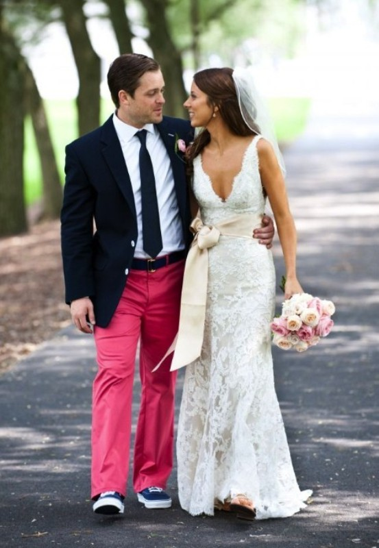 Bright And Colorful Groom S Suits Ideas
