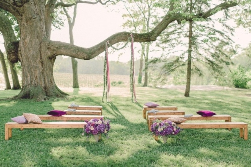 Picture Of clever ways to seat your guests at the wedding ceremony  11