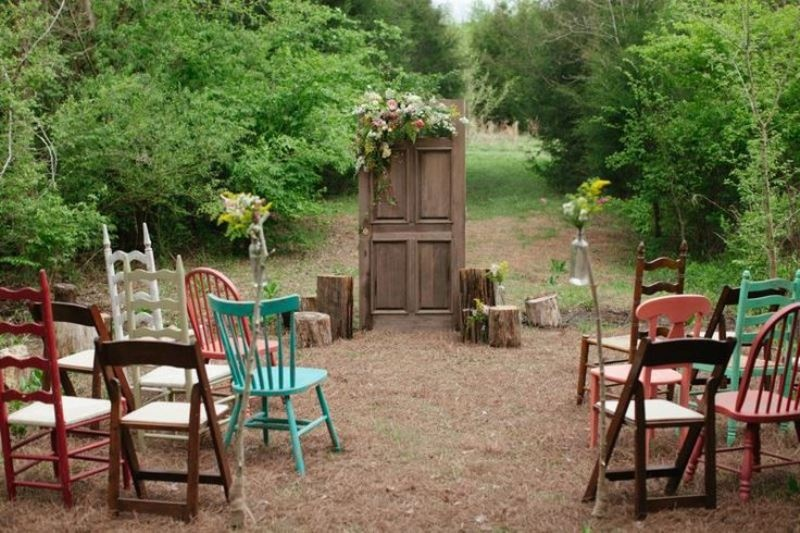 Picture Of clever ways to seat your guests at the wedding ceremony  14