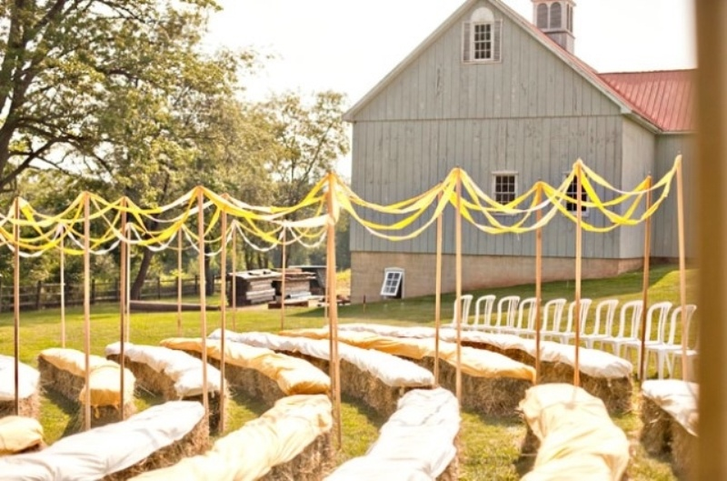 Picture Of clever ways to seat your guests at the wedding ceremony  19