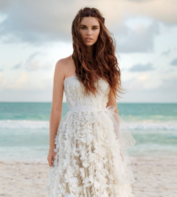 Beach Wavy Wedding Hairstyles: Picture Of Destination Wedding Hair Ideas