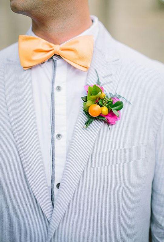 Picture Of fresh and bright kumquat wedding decor ideas  10