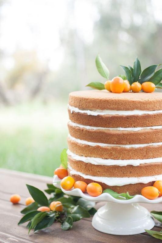 Picture Of fresh and bright kumquat wedding decor ideas  15