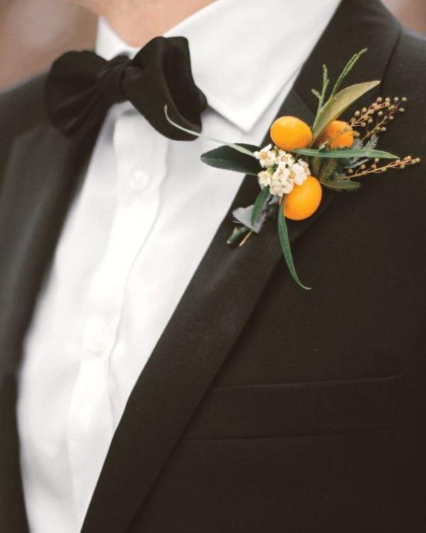 Picture Of fresh and bright kumquat wedding decor ideas  17