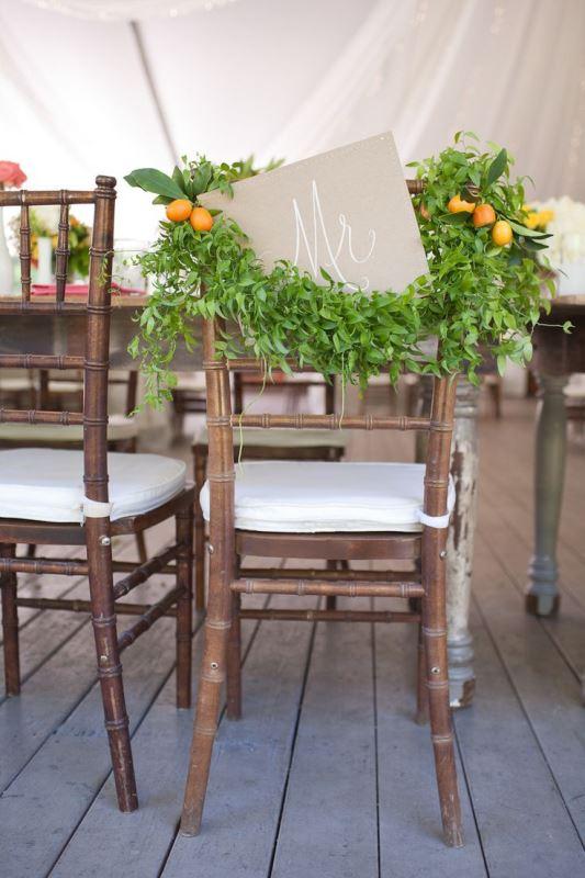 Picture Of fresh and bright kumquat wedding decor ideas  25