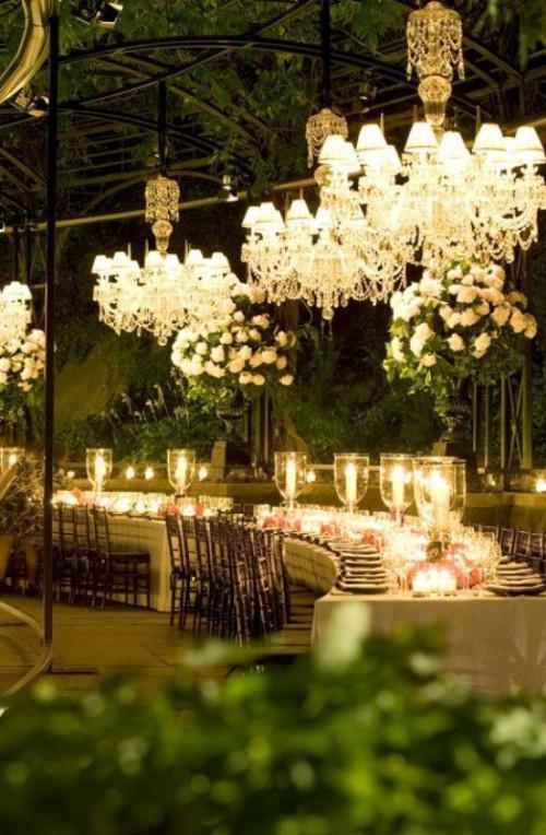 27 Glamorous Chandeliers Wedding Decor Ideas Weddingomania