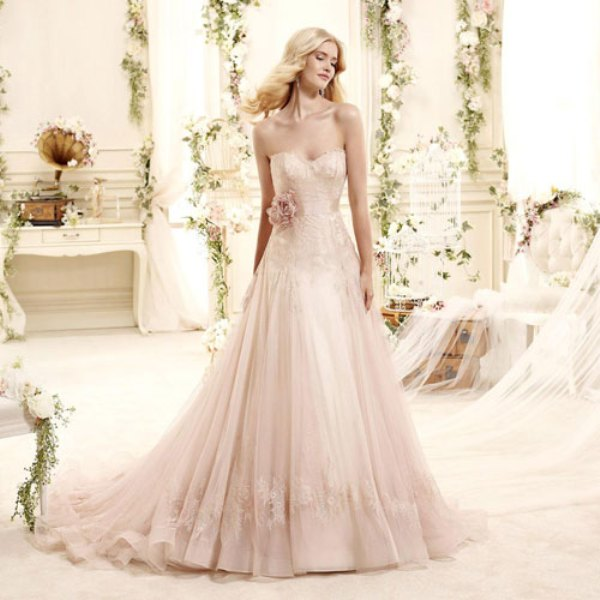 Picture Of romantic valentines day wedding dress ideas  1