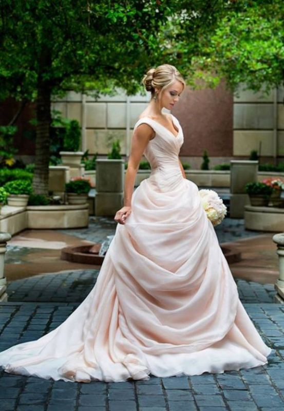 Picture Of romantic valentines day wedding dress ideas  16