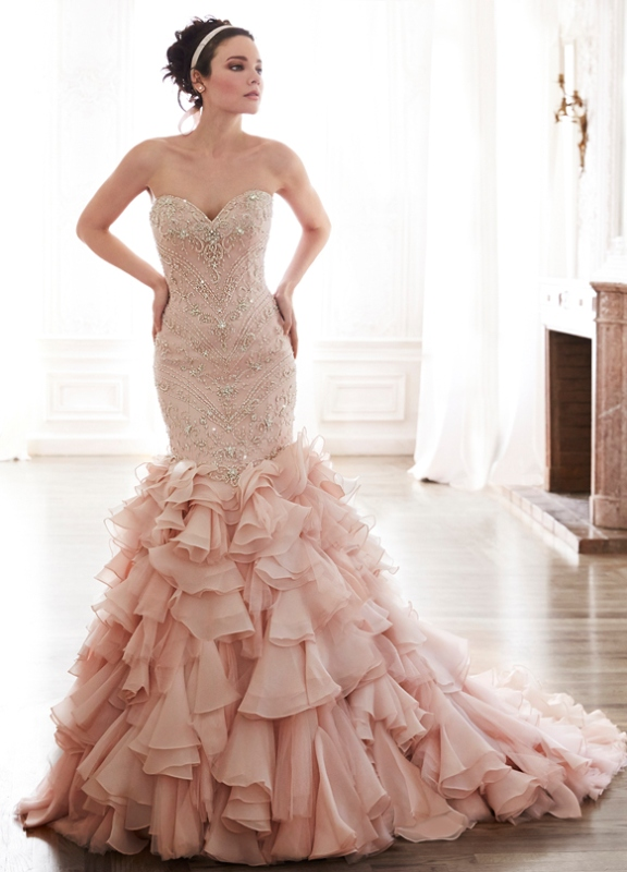 27 Romantic Valentine S Day Wedding Dress Ideas Weddingomania