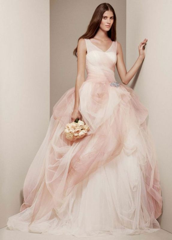 Picture Of romantic valentines day wedding dress ideas  27