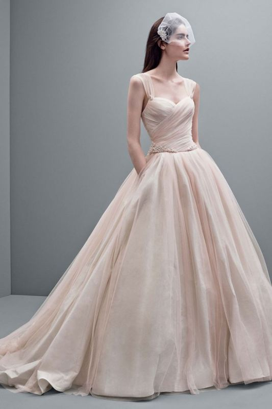 Picture Of romantic valentines day wedding dress ideas  5