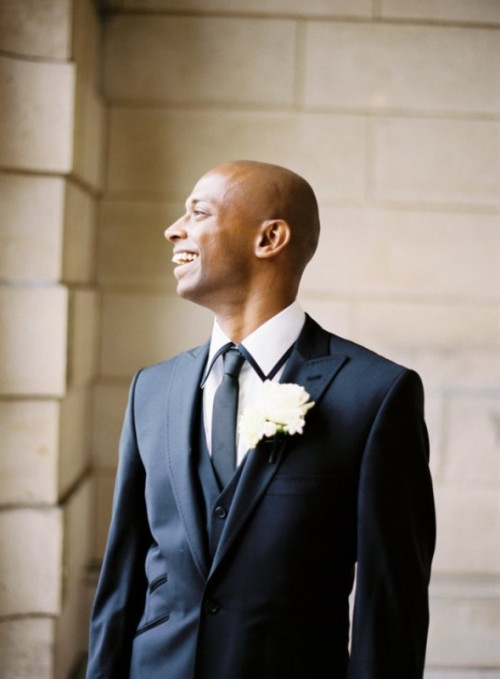 27 Stylish Groom's Outfit Ideas With Skinny Ties