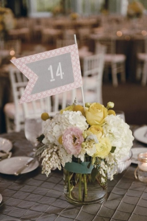 Sweet Ways To Decorate Your Wedding With Pennants
