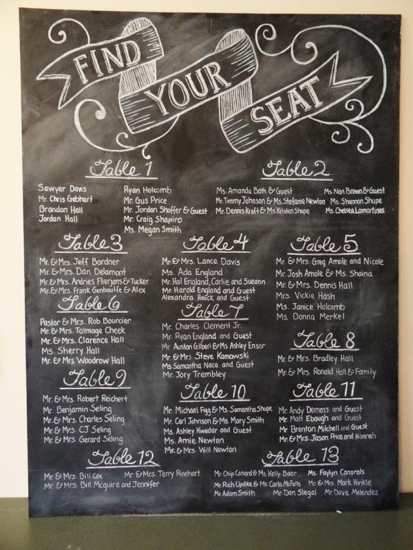 27 Unique Wedding Seating Charts Ideas Weddingomania