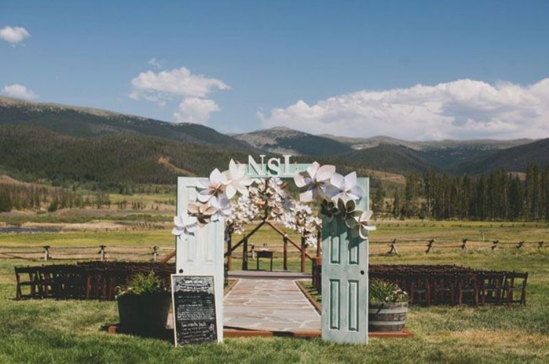 Wonderful Wedding Backdrops With Doors & Picture Of Wonderful Wedding Backdrops With Doors