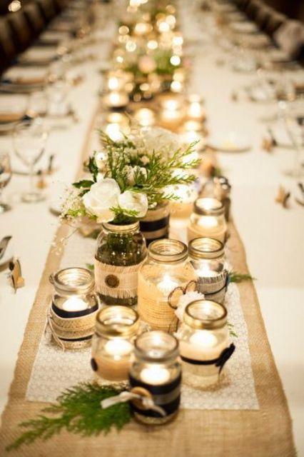Picture Of Elegant Rustic Winter Wedding Ideas 16