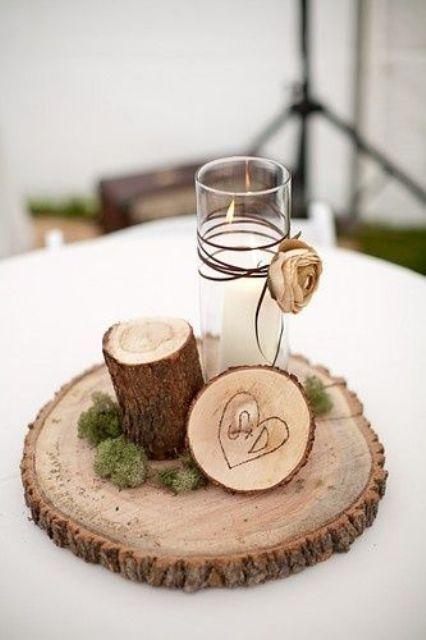 Picture Of Elegant Rustic Winter Wedding Ideas 17