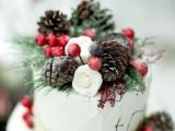 28 Elegant Rustic Winter Wedding Ideas18