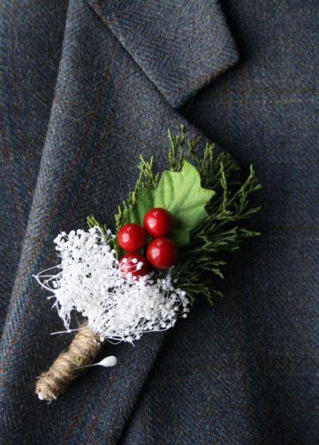 Picture Of Elegant Rustic Winter Wedding Ideas 21